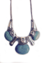 Necklace  N 121 SLV TURQ