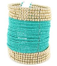 Bracelet  B 15601 GLD TURQ