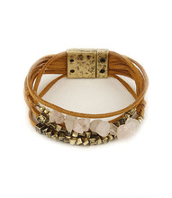 Bracelet  B 0374 GLD PNK