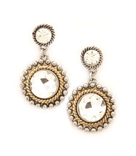 Earrings  E 1021 SLV CLR