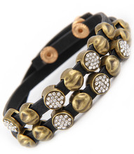 Bracelet  B 14341 GLD BLK