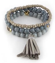 Bracelet  B 1764 GLD GRY