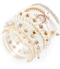 Bracelet  B 15482 GLD WHT