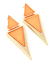 Earrings  E 415 GLD COR