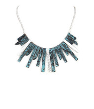 Necklace N 5222 SLV TURQ