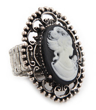 Ring  R 0136 SLV WHT