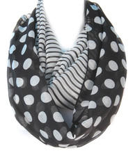 Scarf  S 3377-3 BLK
