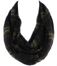 Scarf  S 4313 BLK
