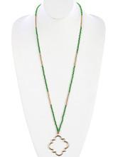 Necklace  BON99230GDGRN