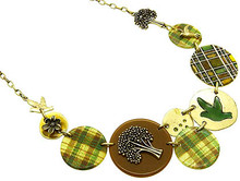 Necklace  AZN22111AGGRN