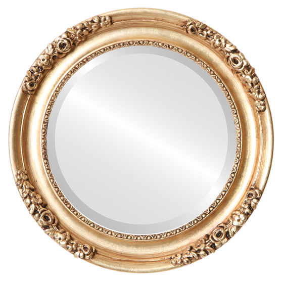 Brand-new Vintage Gold Round Mirrors from $177 | Free Shipping WF82
