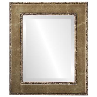 Beveled Mirror - Paris Rectangle Frame - Champagne Gold