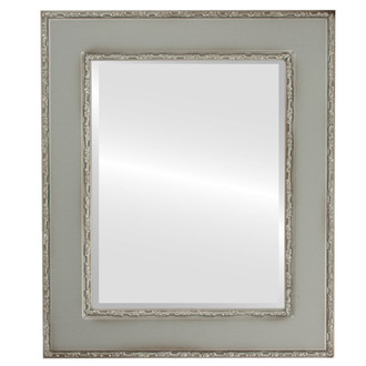 Beveled Mirror - Paris Rectangle Frame - Silver Shade