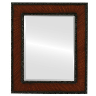 Beveled Mirror - Paris Rectangle Frame - Vintage Cherry