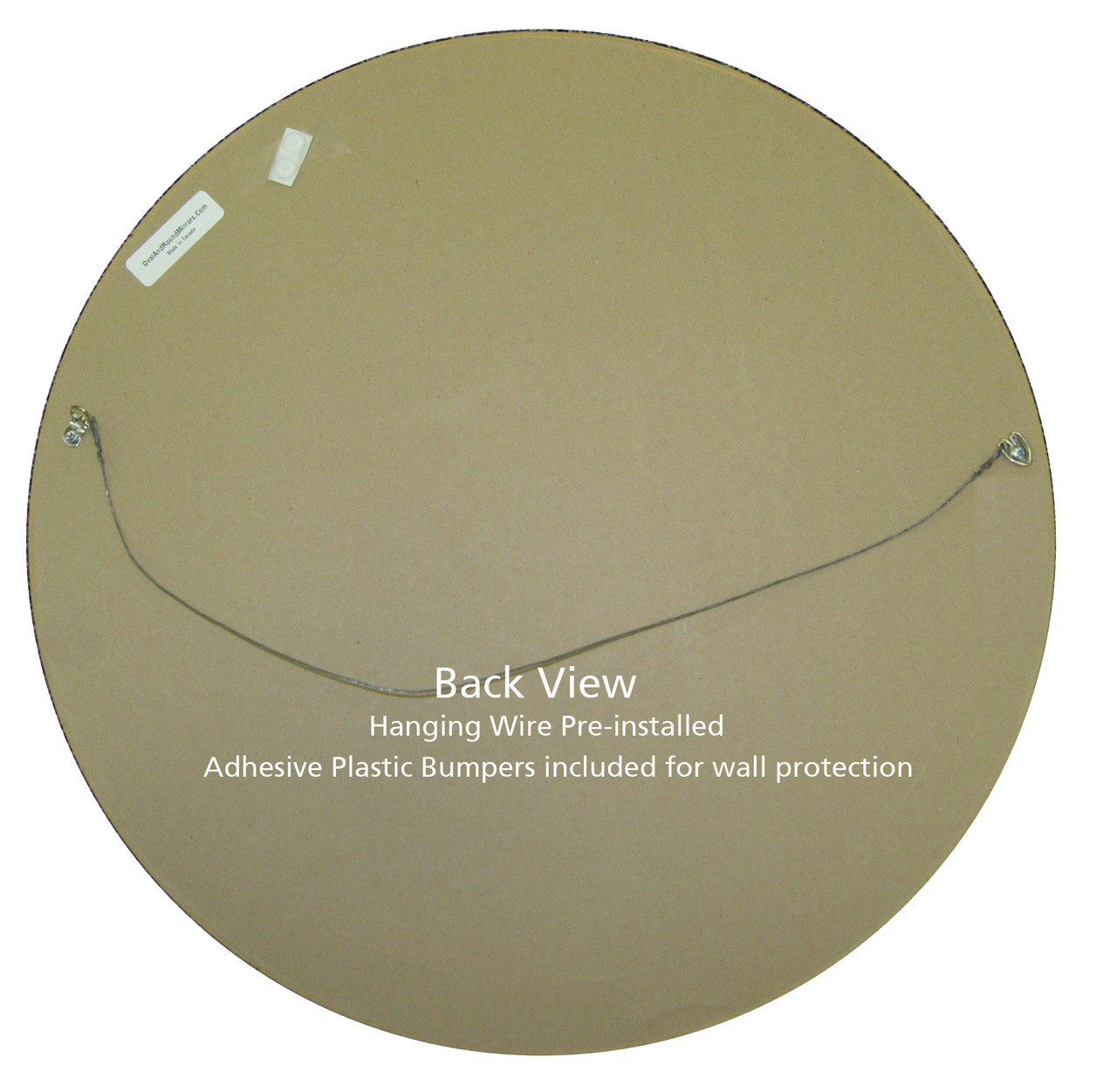 Antique Gold Round Mirrors from $136 | Free Shipping