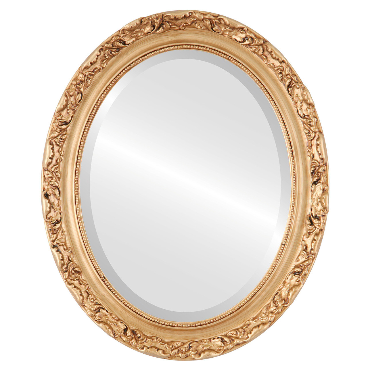 Vintage Gold Oval Mirrors from $146   Free Shipping
