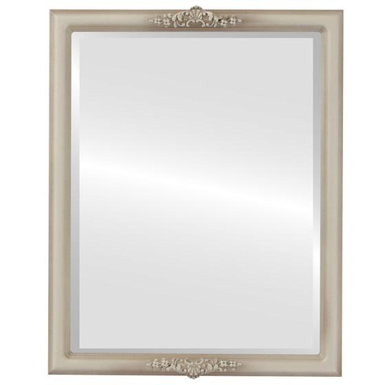 Beveled Mirror - Contessa Rectangle Frame - Taupe
