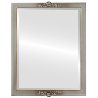 Beveled Mirror - Athena Rectangle Frame - Silver Shade