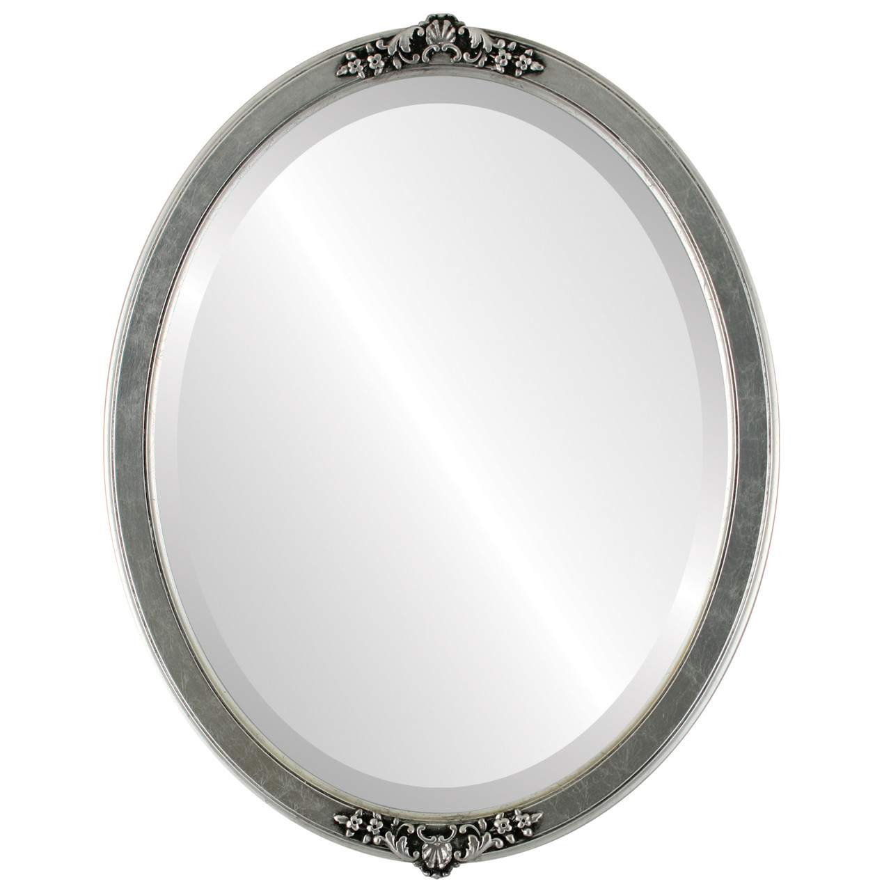Antique Silver Oval Mirrors from $140 | Free Shipping
