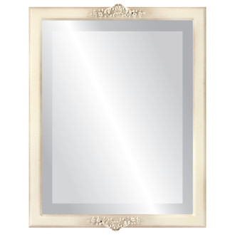 Beveled Mirror - Athena Rectangle Frame - Taupe