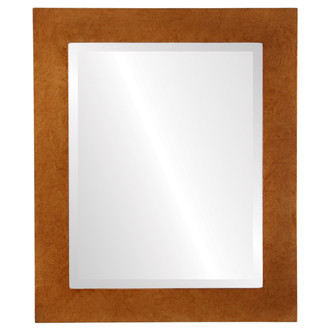 Beveled Mirror - Soho Rectangle Frame - Burnished Gold