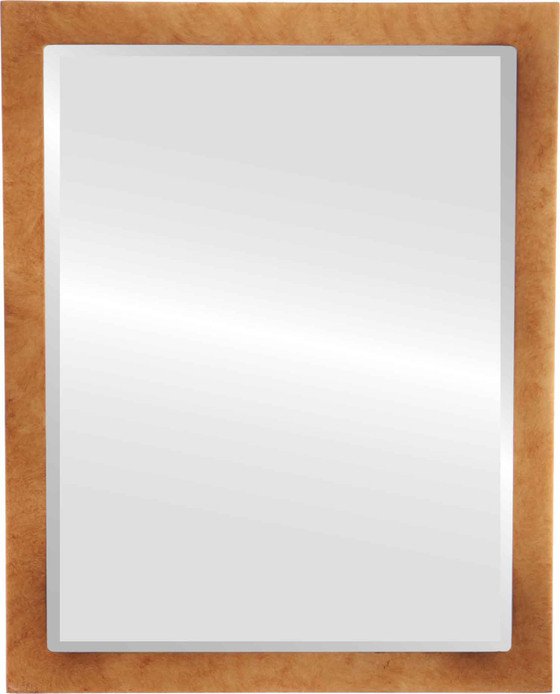 Beveled Mirror - Manhattan Rectangle Frame - Burnished Gold