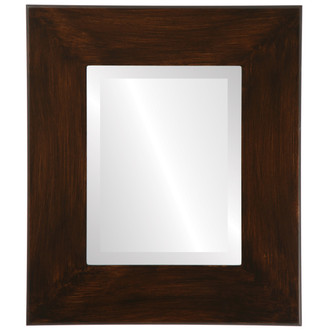 Beveled Mirror - Boulevard Rectangle Frame - Mocha