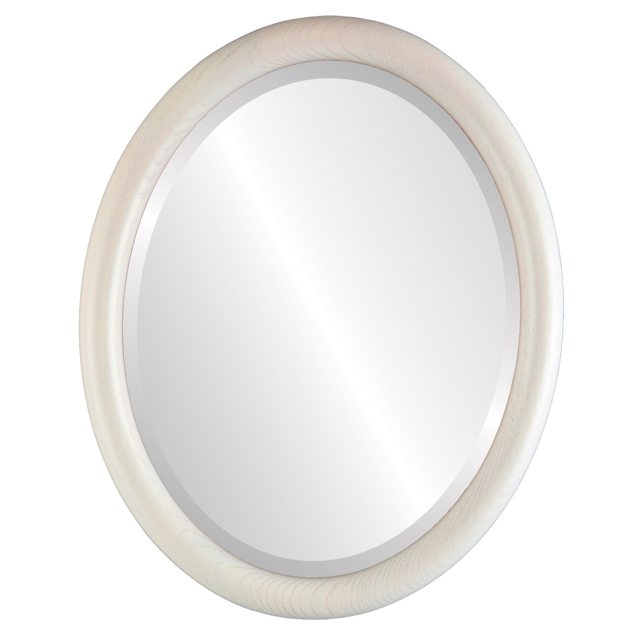 Modern White Oval Mirrors from $120 | Free Shipping