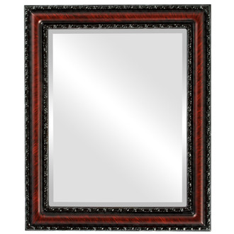 Beveled Mirror - Dorset Rectangle Frame - Vintage Cherry