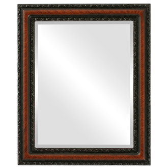 Beveled Mirror - Dorset Rectangle Frame - Vintage Walnut
