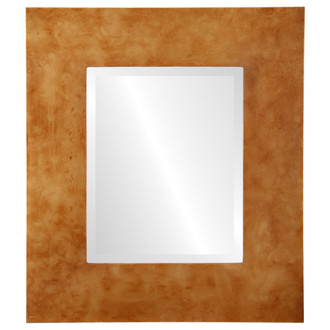Beveled Mirror - Tribeca Rectangle Frame - Burnished Gold