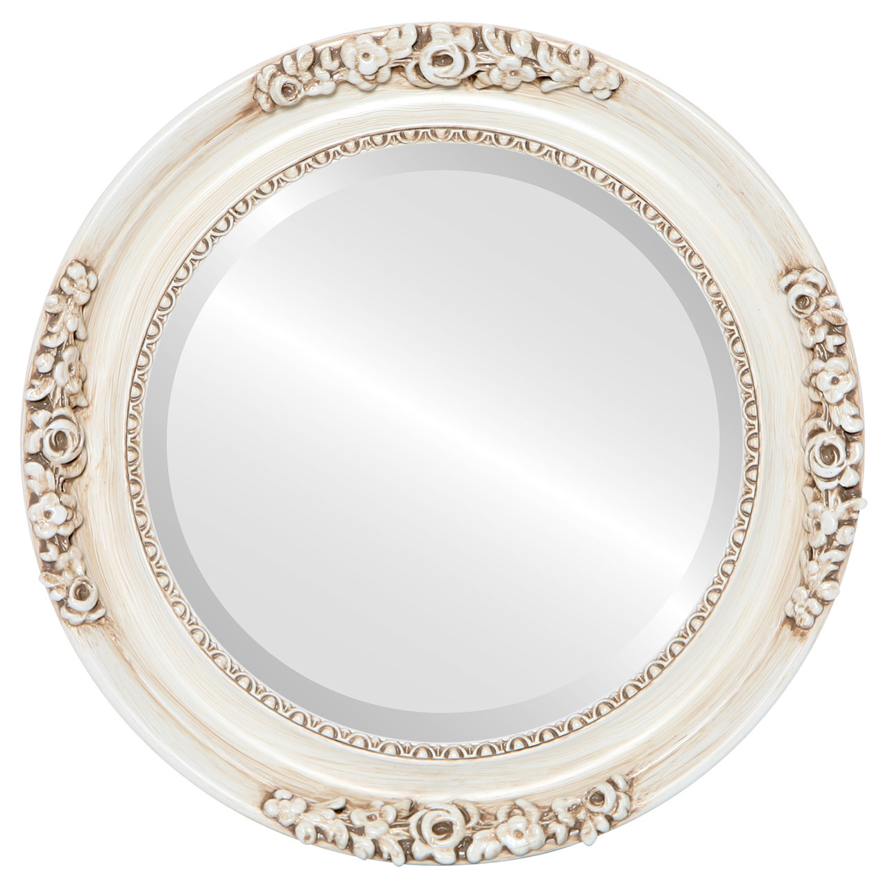 Vintage White Round Mirrors From 146 Free Shipping