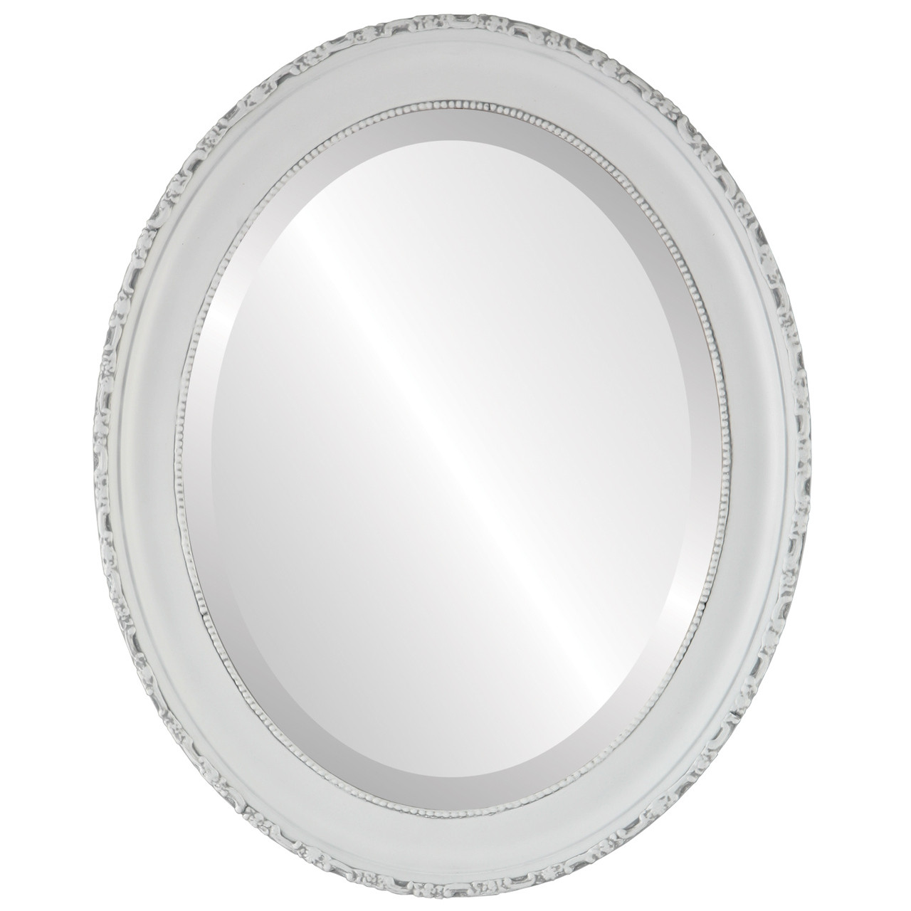 Antique White Oval Mirrors From 136 Free Shipping