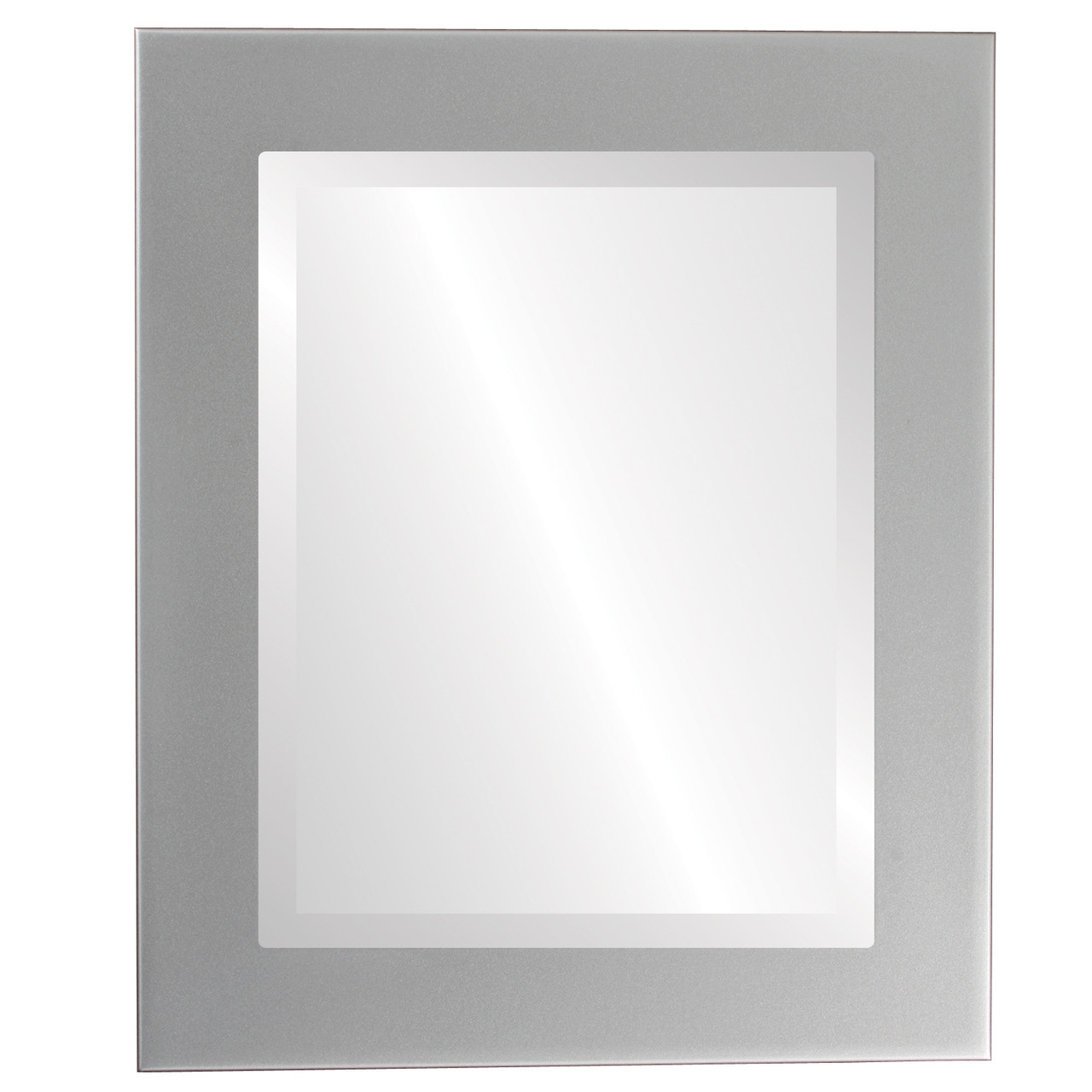 4d5447e1dbb582 Contemporary Silver Rectangle Mirrors from $119 | Free Shipping