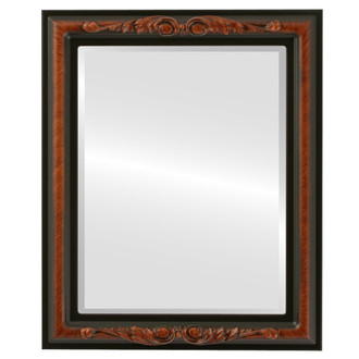 Beveled Mirror - Florence Rectangle Frame - Vintage Walnut