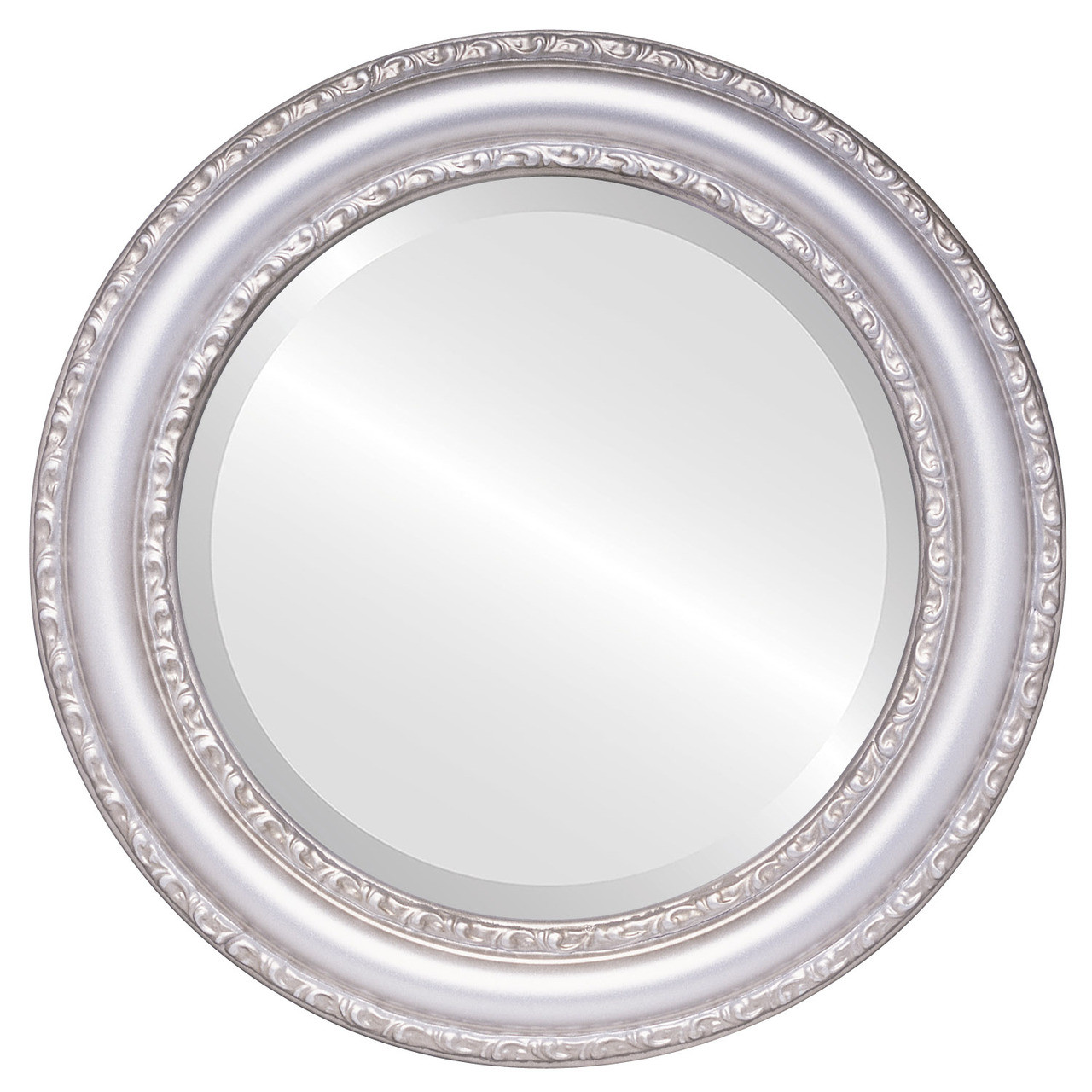 Antique Silver Round Mirrors from $136 | Free Shipping