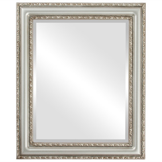 Beveled Mirror - Dorset Rectangle Frame - Silver Shade