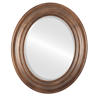 Beveled Mirror - Lancaster Oval Frame - Sunset Gold