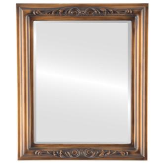 Beveled Mirrors - Florence Rectangle Frame - Sunset Gold