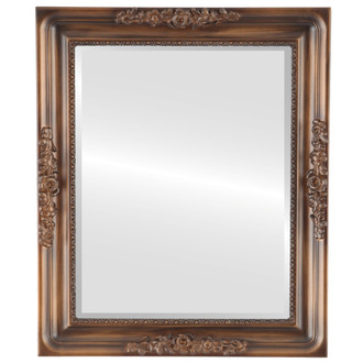 Beveled Mirror - Versailles Rectangle Frame - Sunset Gold