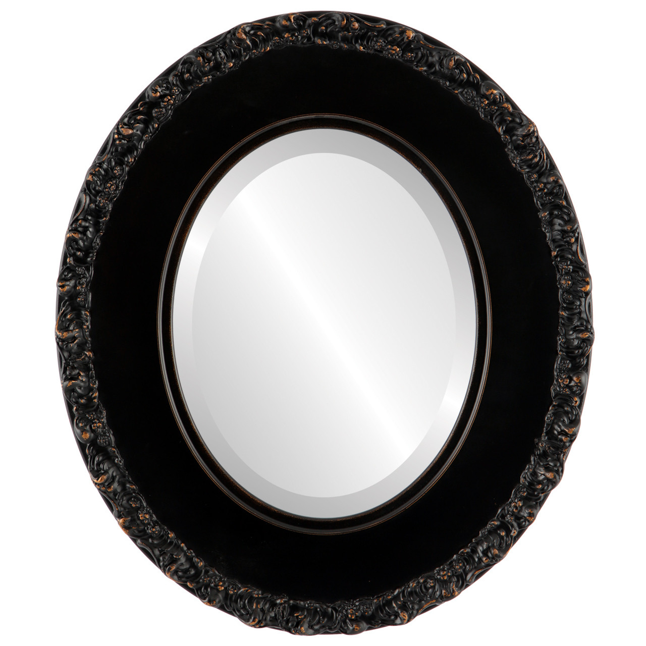 Black Oval Mirrors from $127 | Free Shipping