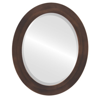 Beveled Mirror - Soho Oval Frame - Rubbed Bronze
