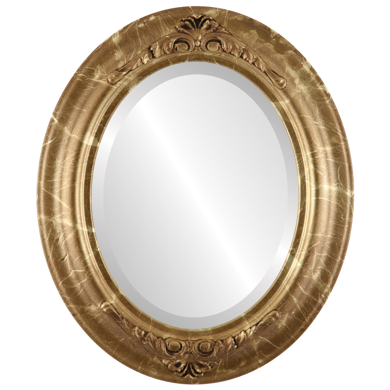 Vintage Gold Oval Mirrors from $164 | Free Shipping