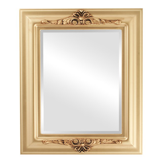 Beveled Mirror - Winchester Rectangle Frame - Gold Spray