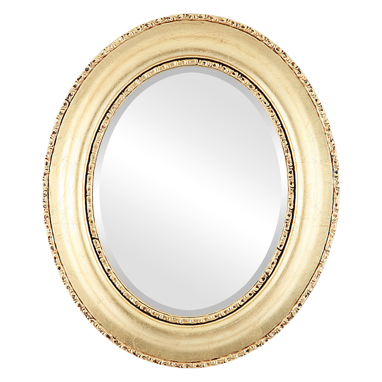 Antique Gold Oval Mirrors from $164 | Free Shipping