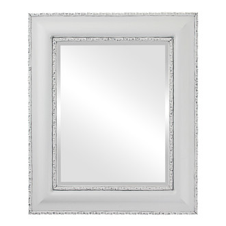 Beveled Mirror - Somerset Rectangle Frame - Linen White