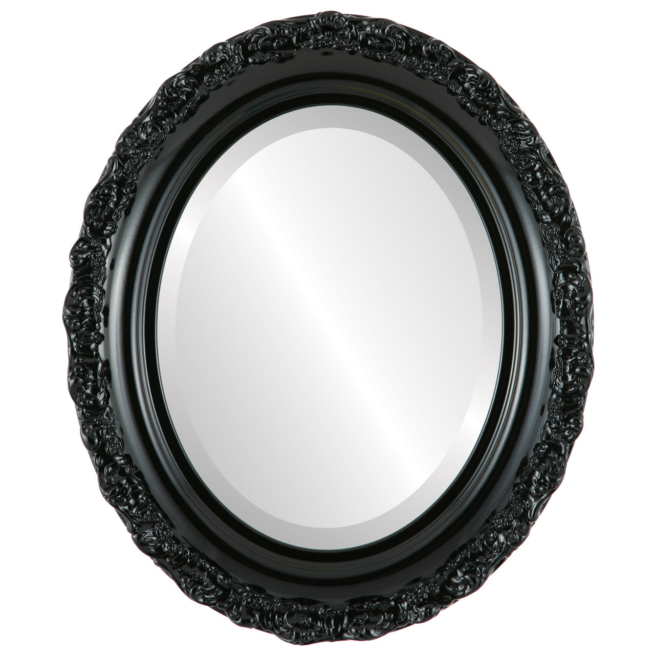 Decorative Black Oval Mirrors from $146 | Free Shipping