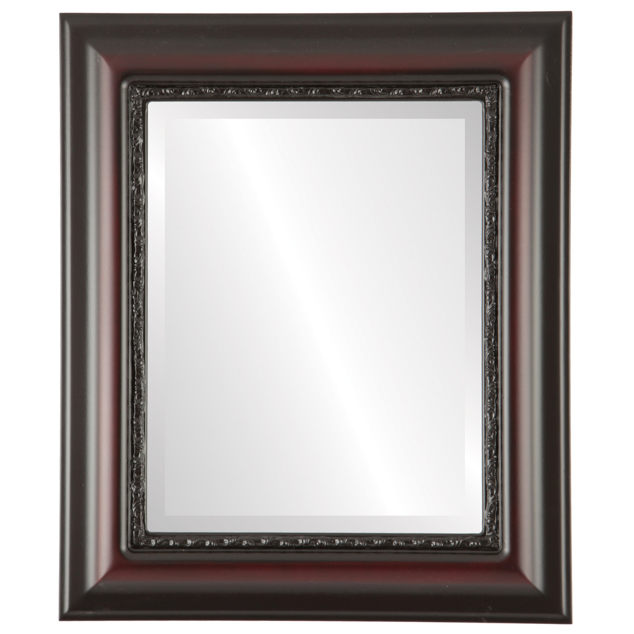 Vintage Red Rectangle Mirrors from $146 | Free Shipping