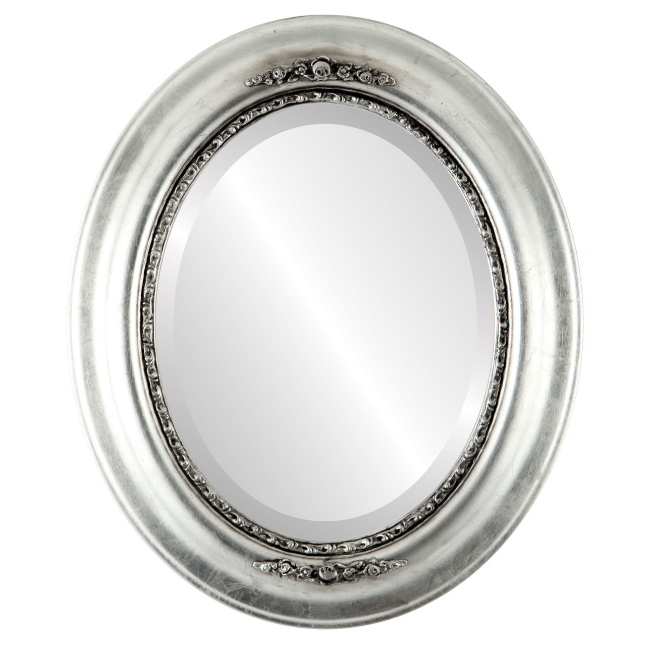 Vintage Silver Oval Mirrors from $177 | Free Shipping