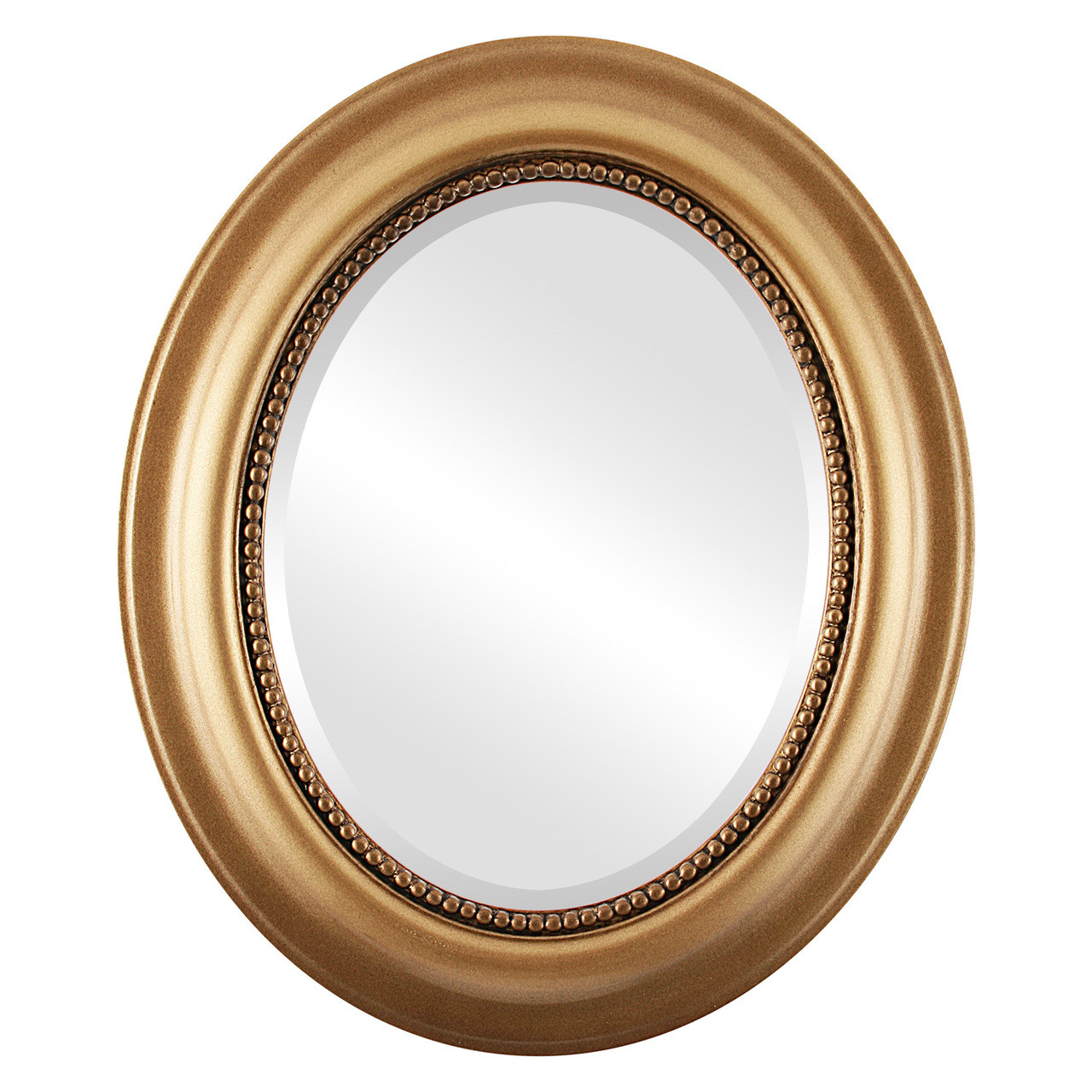 Decorative Gold Oval Mirrors from $146 | Free Shipping